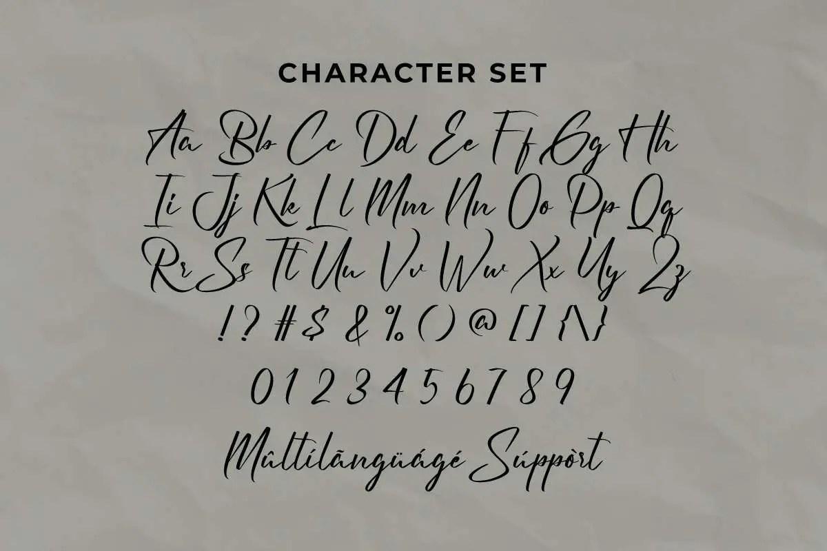 Lithonia Modern Script Font -3