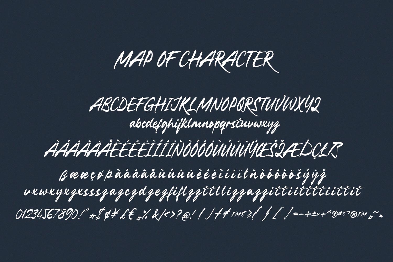 LongbeachHandwritten Font -3