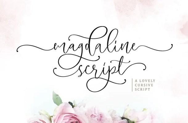 Magdaline Font