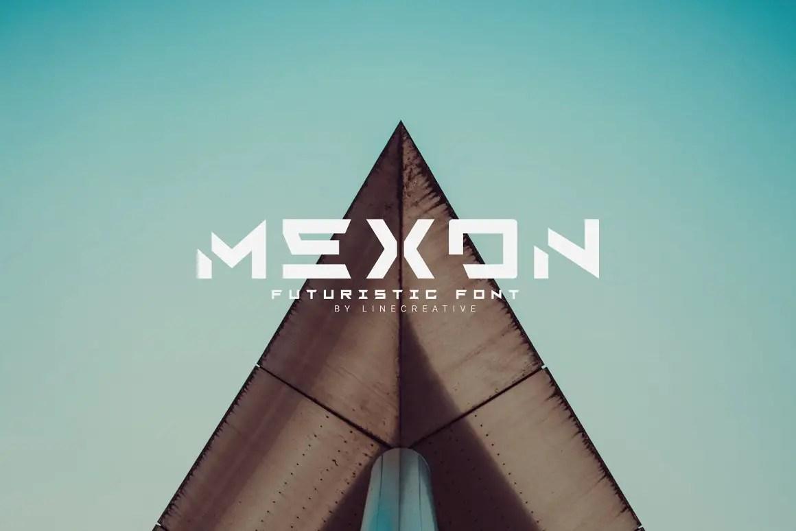 Mexon Modern Display Typeface -1