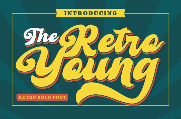 Retro Young Font