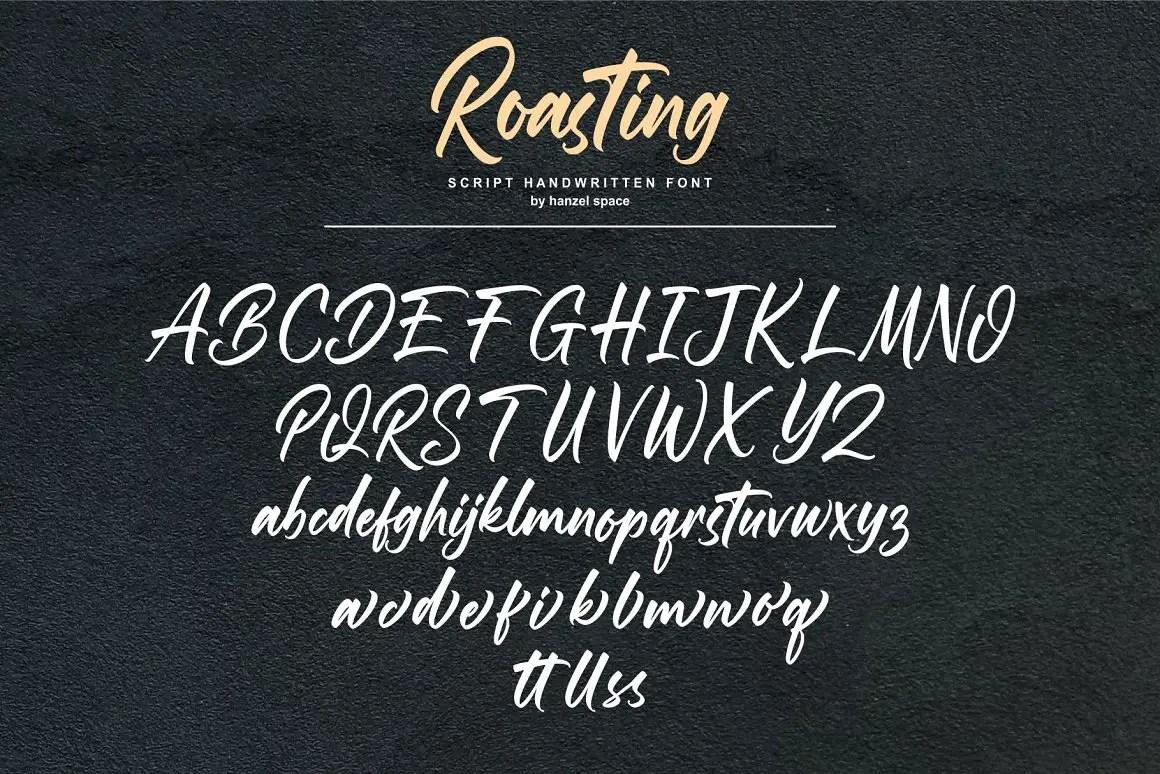 Roasting Bold Script Font -3