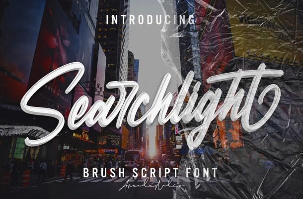 Searchlight Font