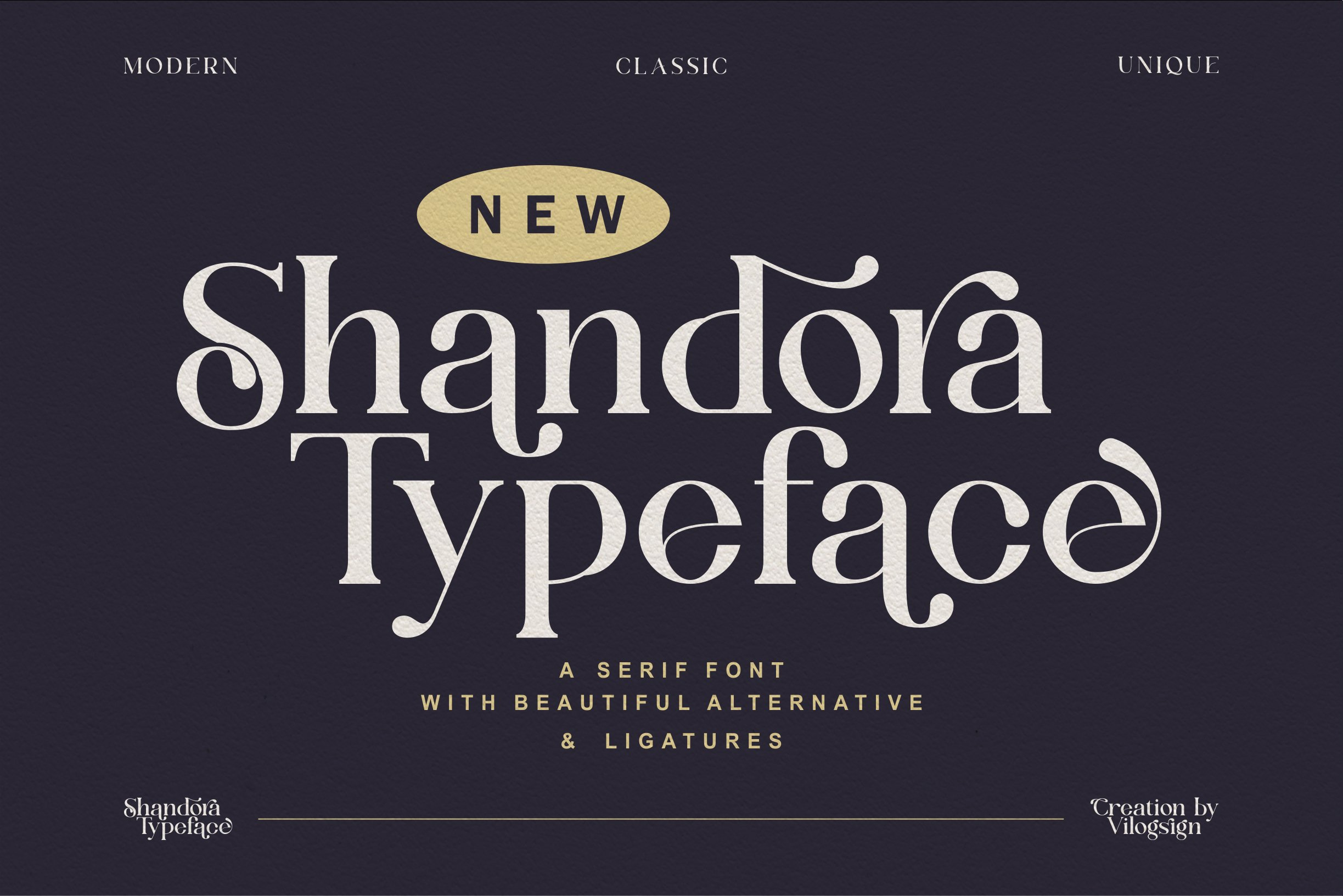 Shandora Modern Serif Typeface -1