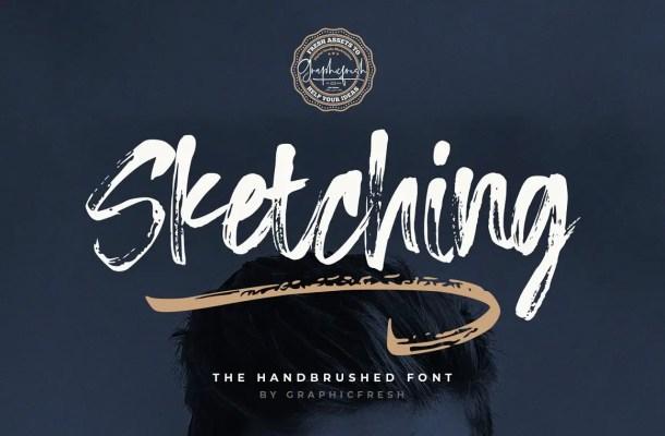 Sketching Font