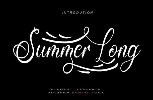 Summer Long Font