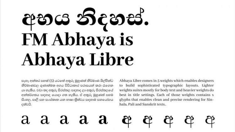 Abhaya Libre Serif Font -2