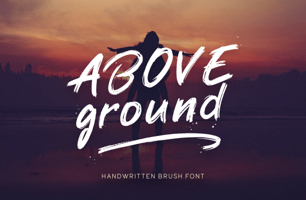 Above Ground Font