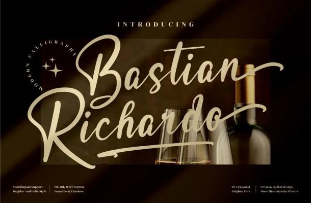 Bastian Richardo Font