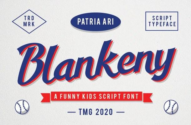 Blankeny Font
