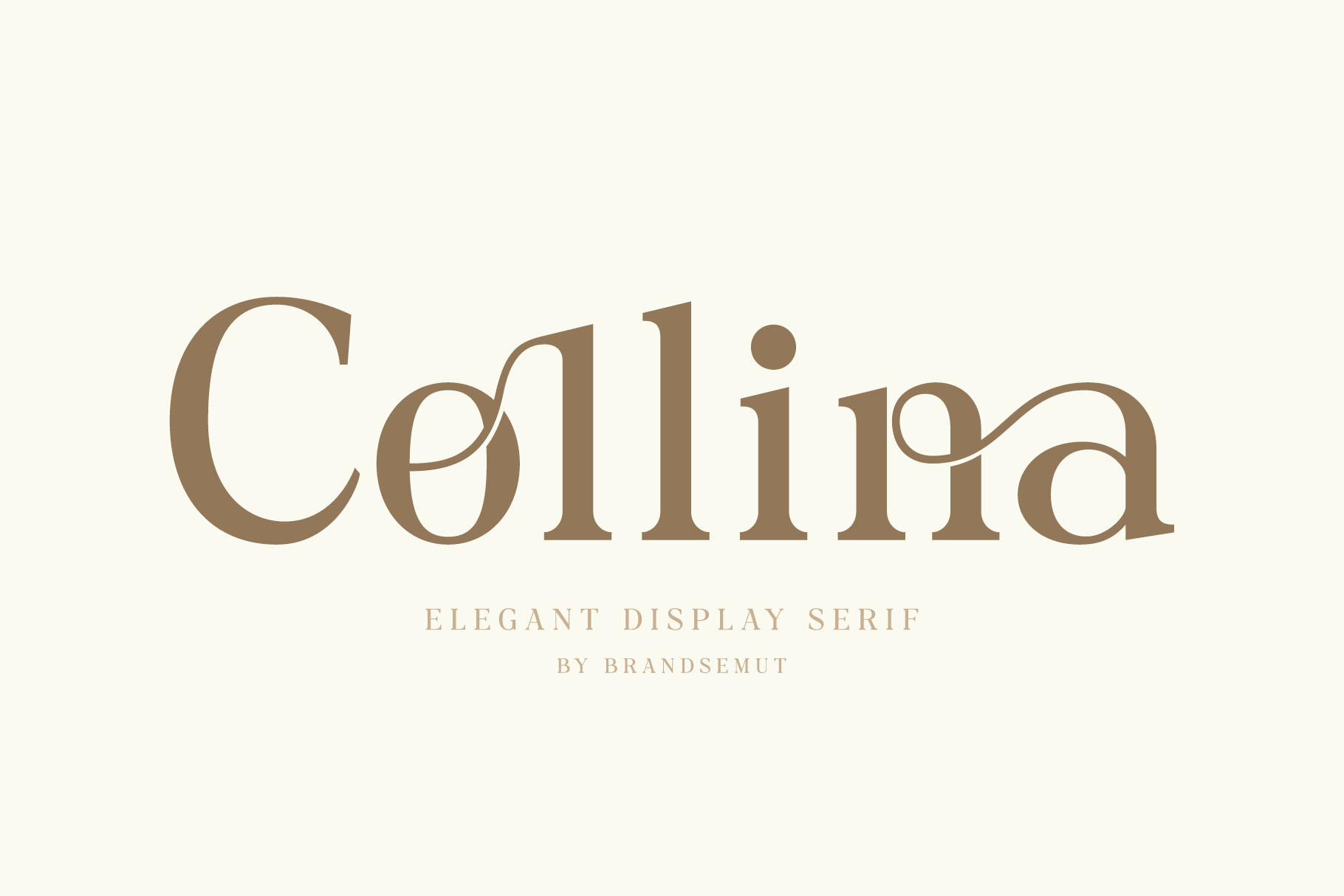 Collina Elegant Serif Font 1