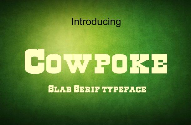 Cowpoke Font