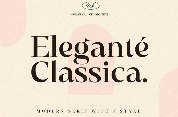 Elegante Classica Font