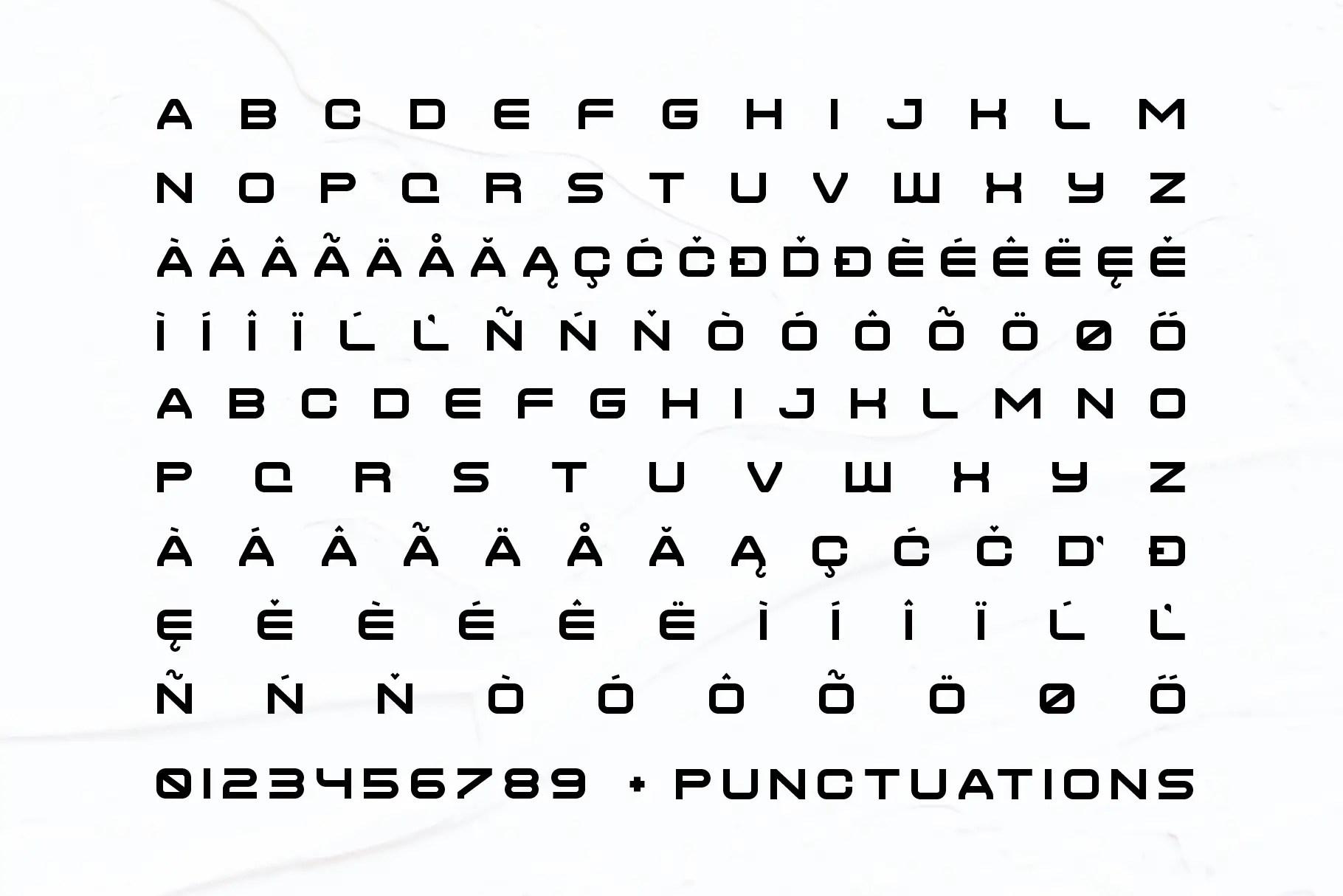 Gardane Powerful Sans Font -3