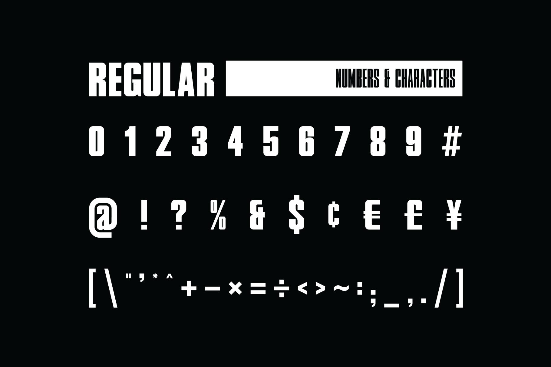 Le Mans Bold Sans Serif Font -3