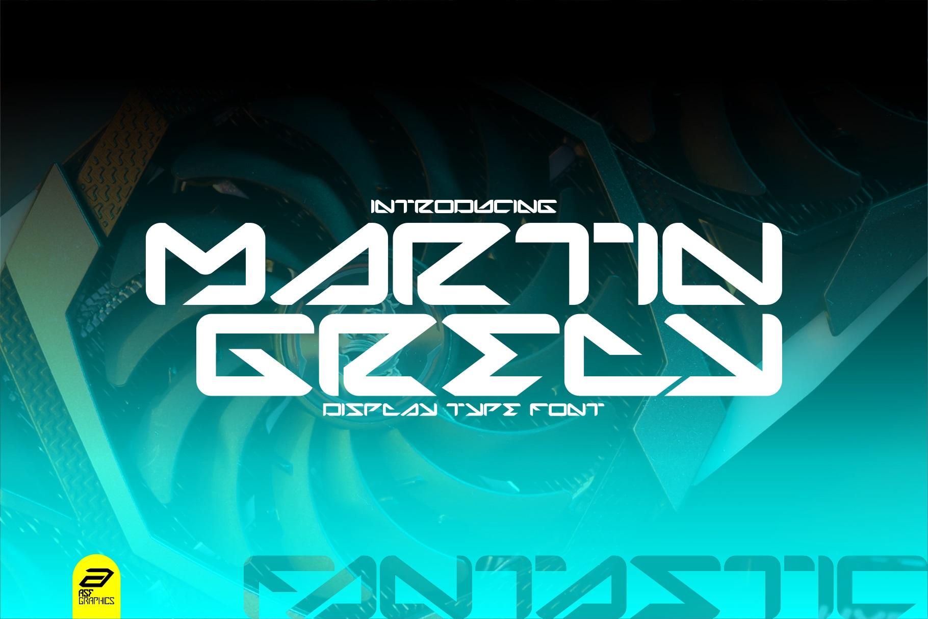 Martin Grely BoldDisplay Font -1
