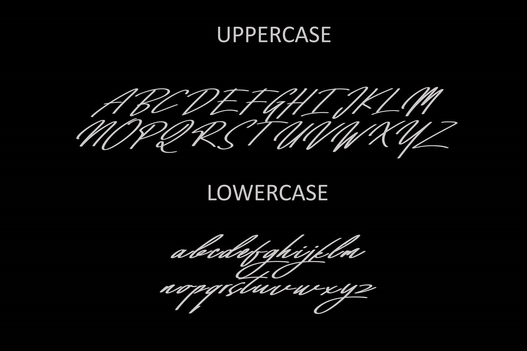 Mighty Script Handwritten Font -2