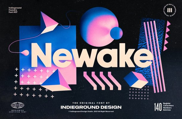 Newake Font