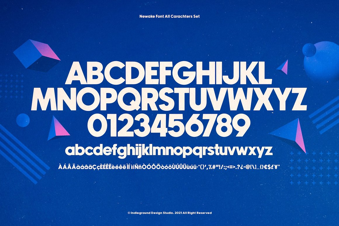 Newake Sans Serif Font -3