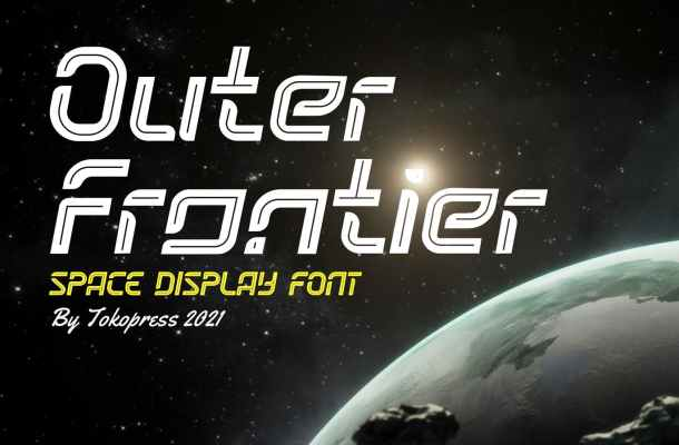 Outer Frontier Font