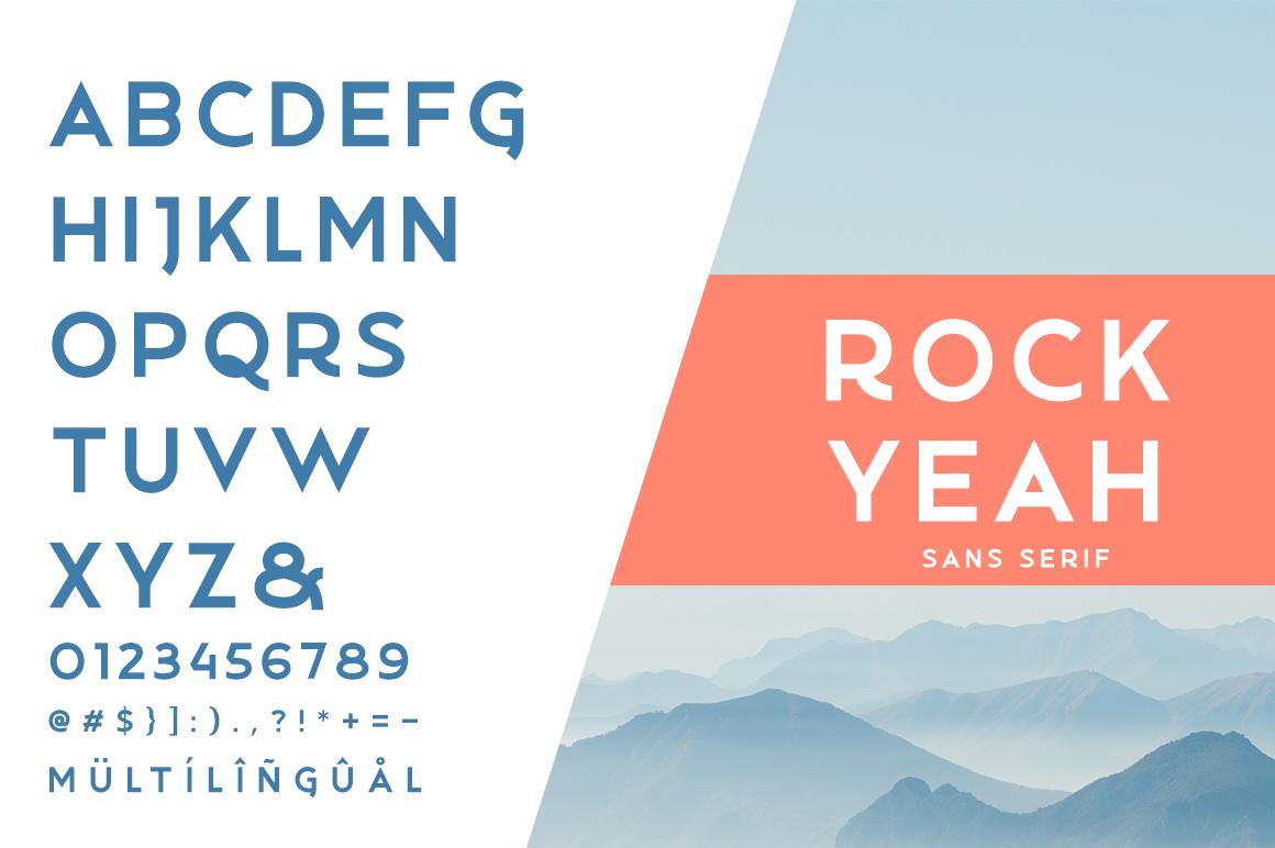 Rockyeah 3 Style Font -2