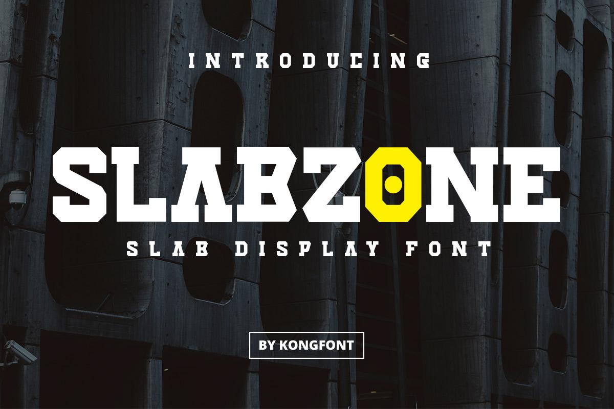 Slabzone Slab Display Font -1