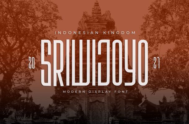 Sriwijoyo Font