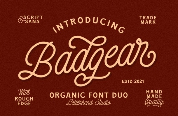 Badgear Font
