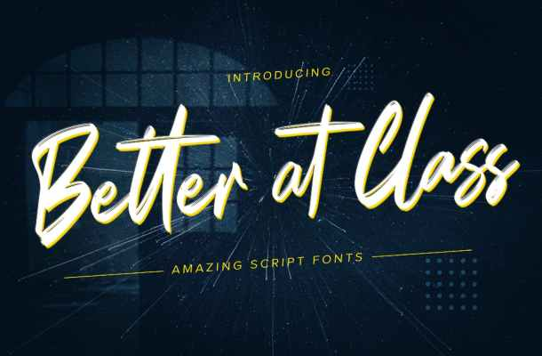 Better at Class Font