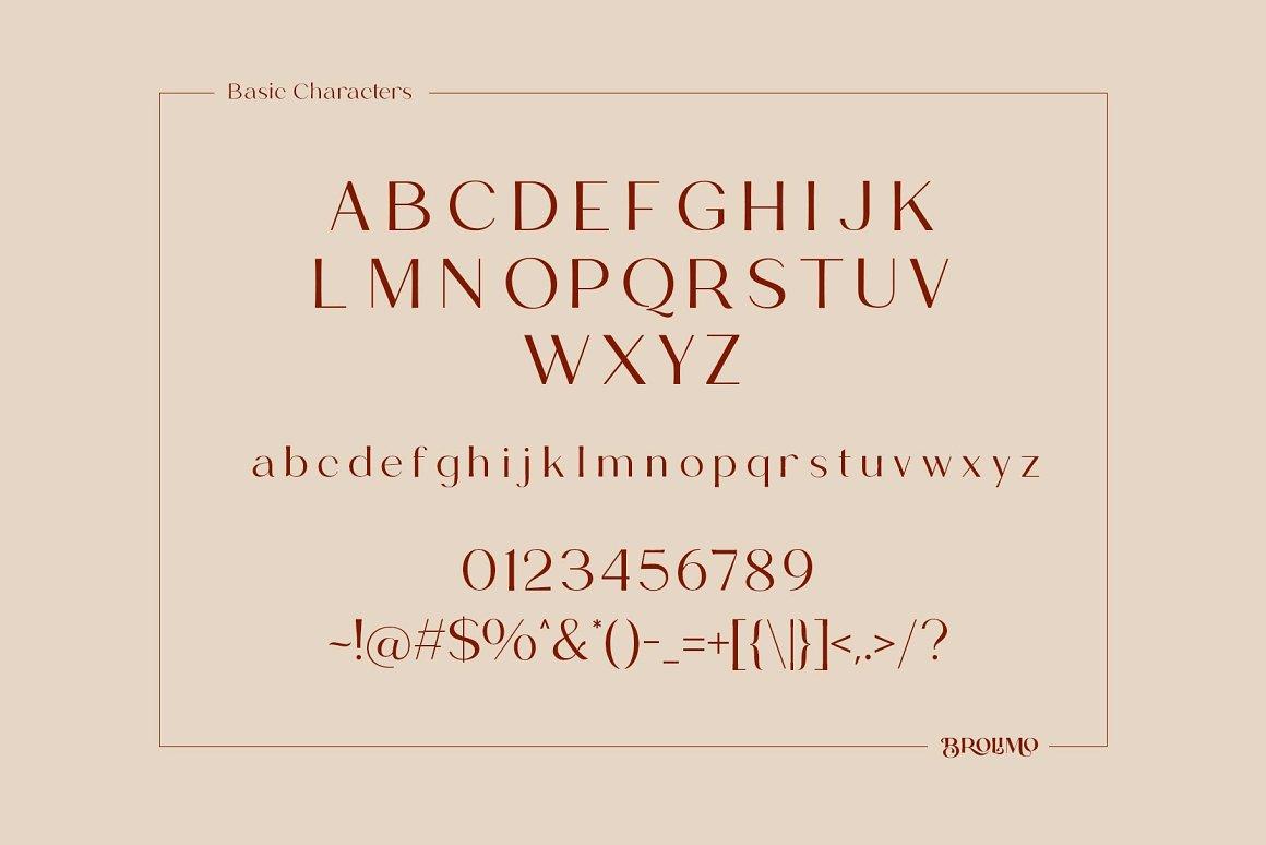 Brolimo Sans Serif Typeface -3