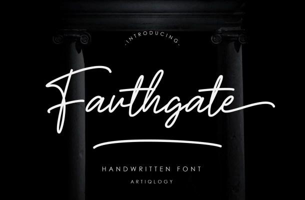 Fouthgate Font