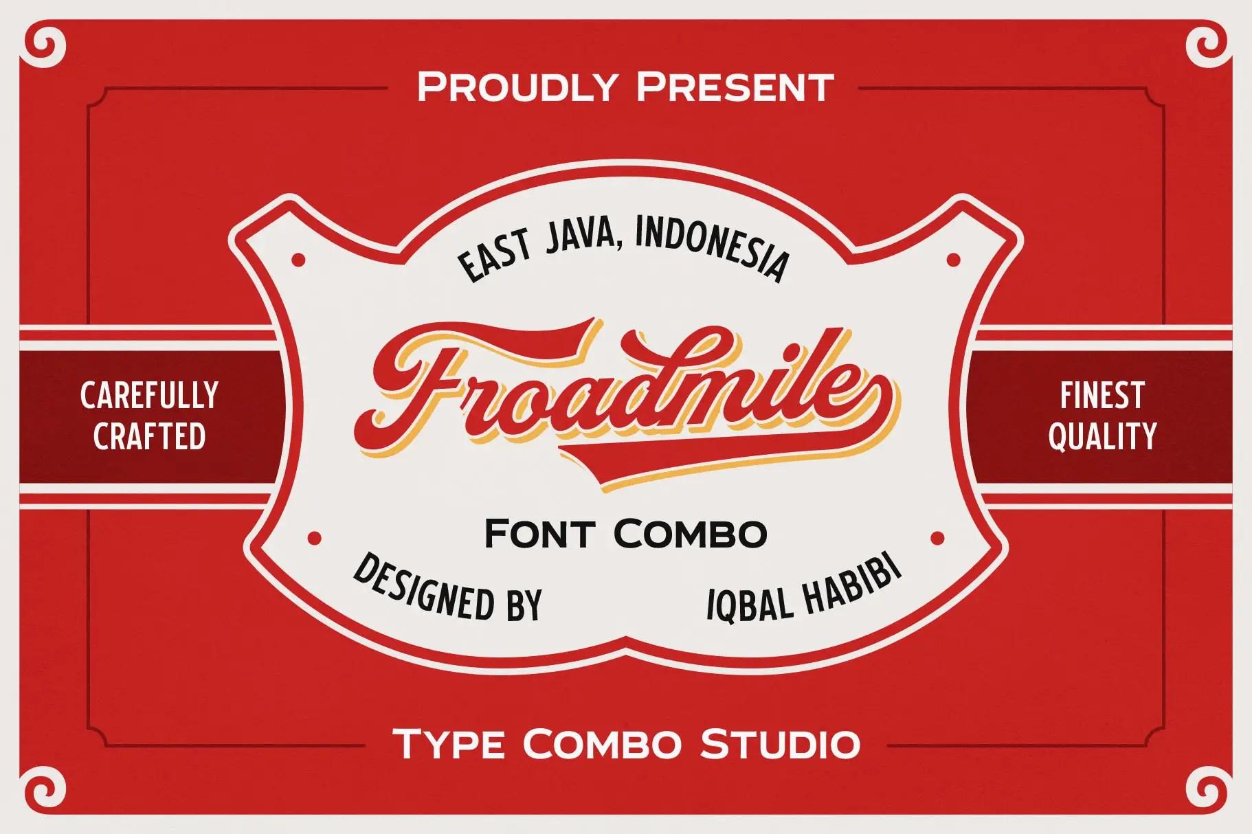 Froadmile Script Font -1