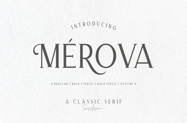 Merova Font