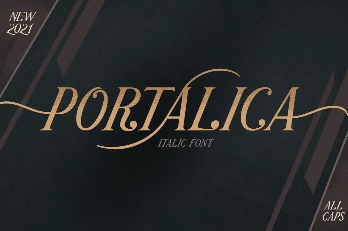 Portalica Elegant Serif Font -1