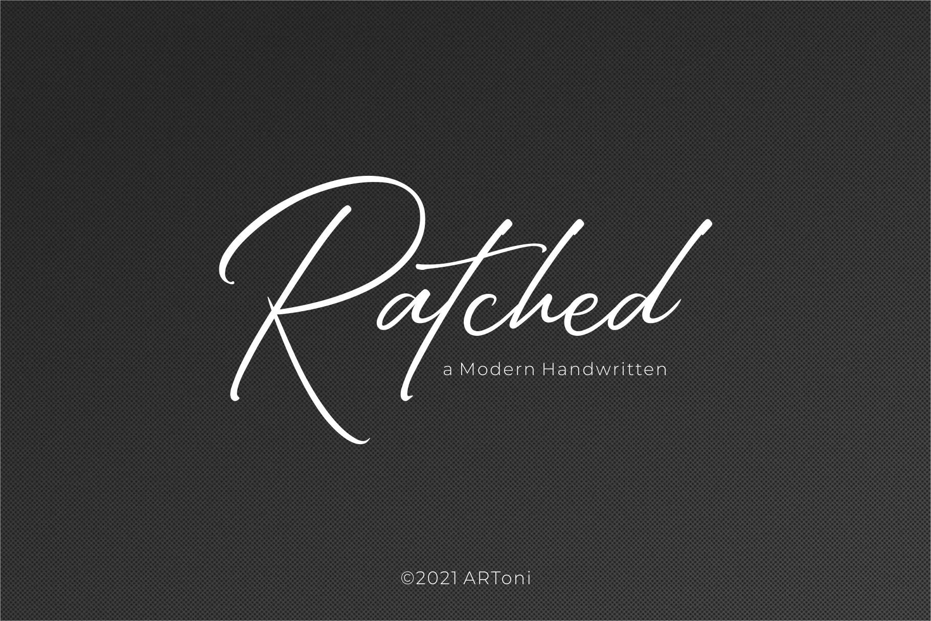 Ratched Modern Handwritten Font -1