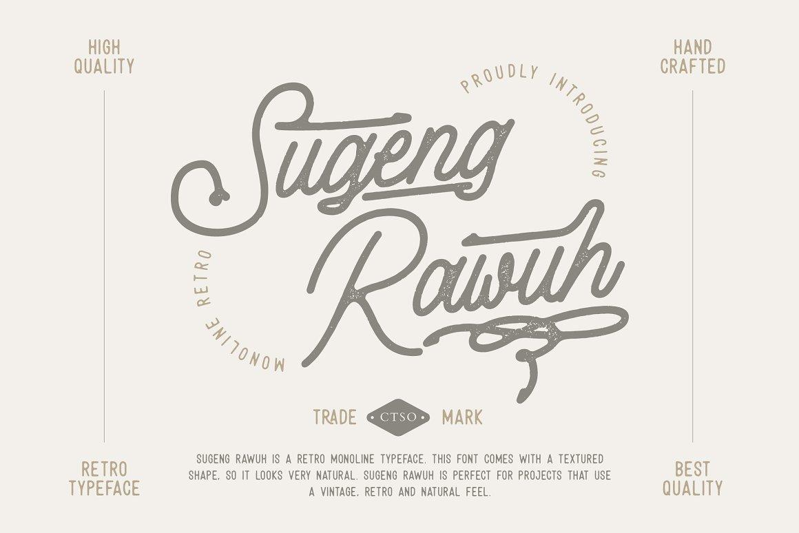 Sugeng Rawuh Monoline Font -1