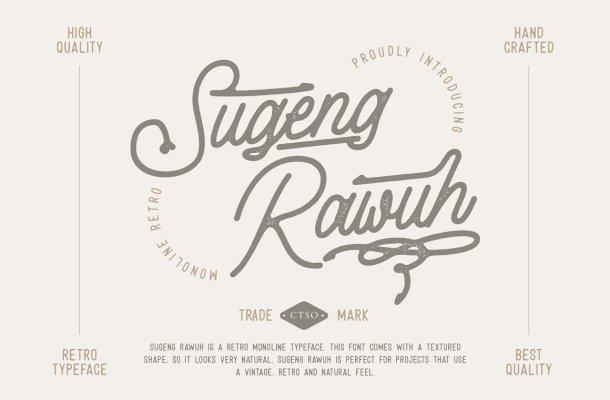Sugeng Rawuh Font