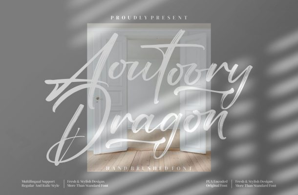 Aoutoory Dragon Font