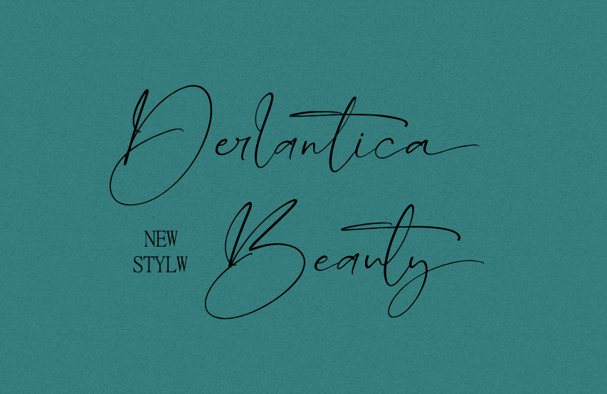 Derlantica Beauty Handwritten Font -1