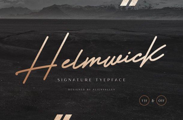 Helmwick Font
