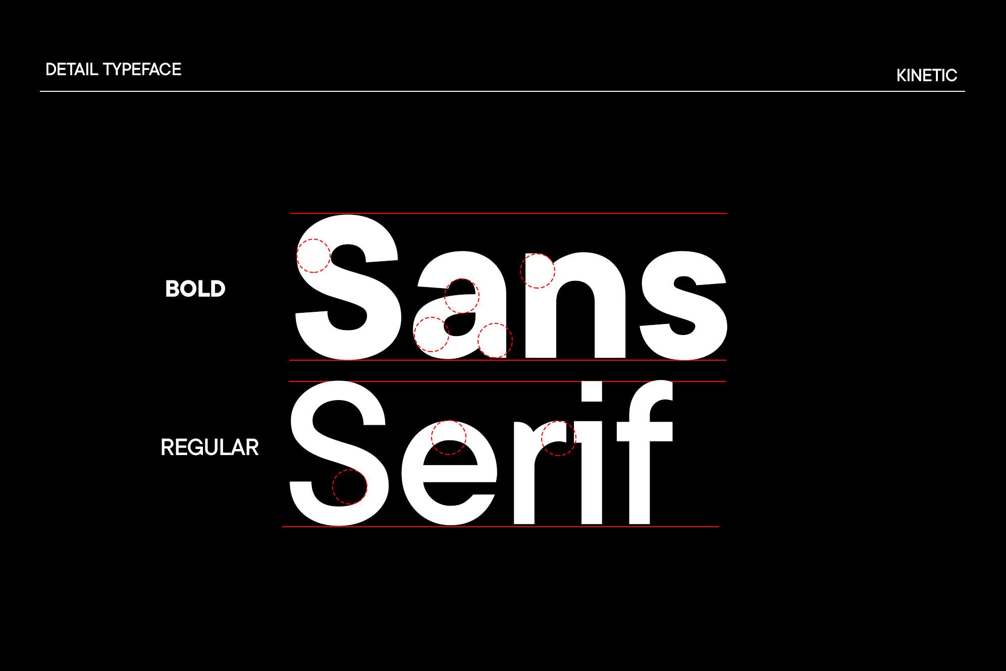 Kinetic Modern Serif Font -2