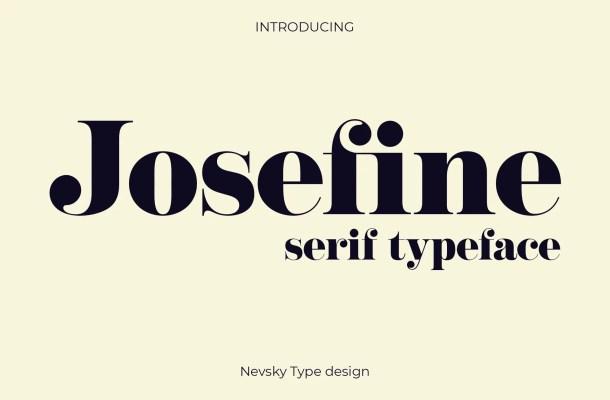 NT Josefine Typeface