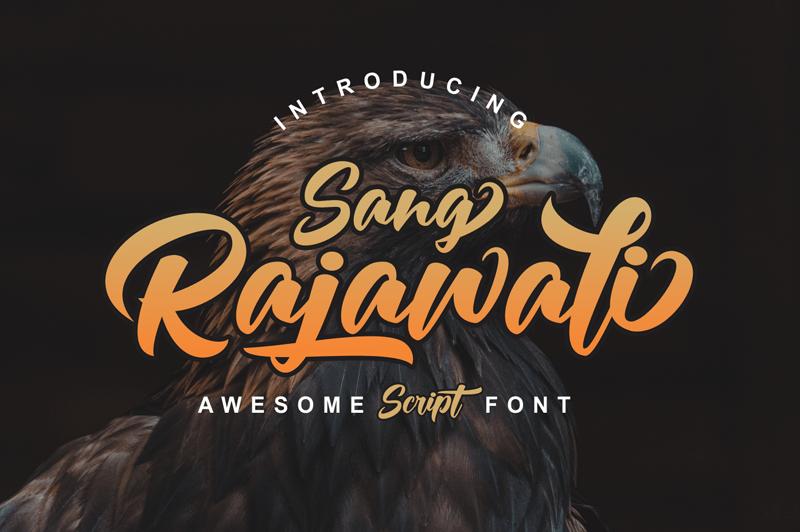 Rajawali Bold Script Font -1