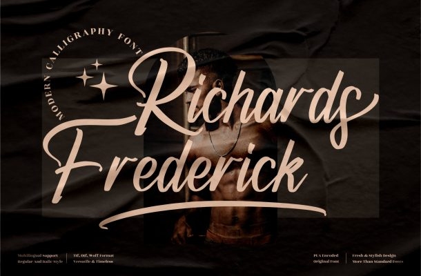 Richards Frederick Font