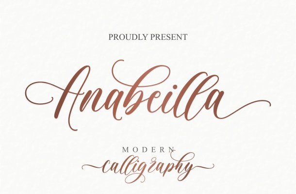 Anabeilla Font