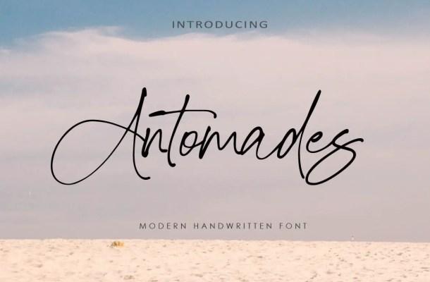 Antomades Font