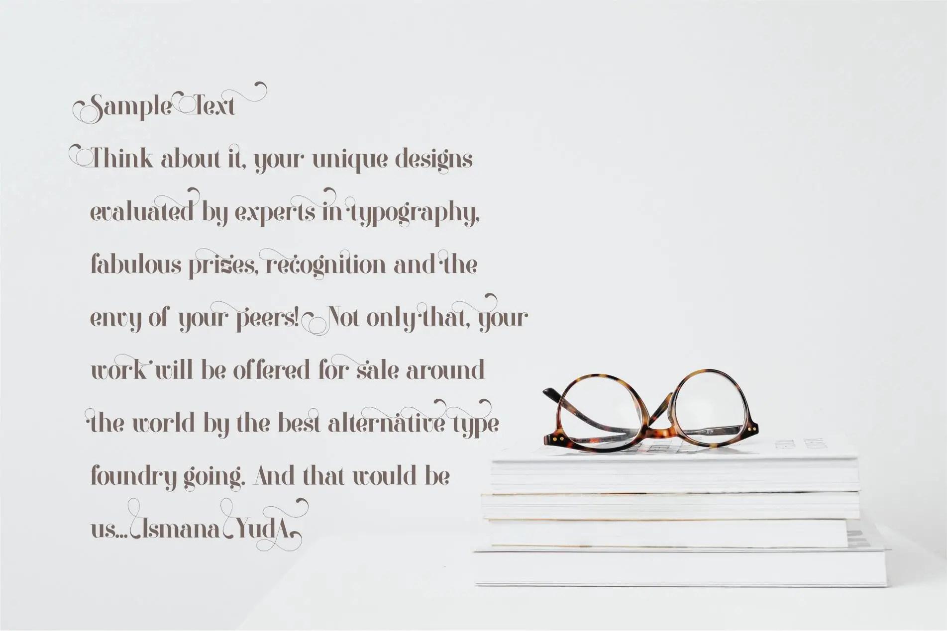 Artina Stylish Serif Font -2