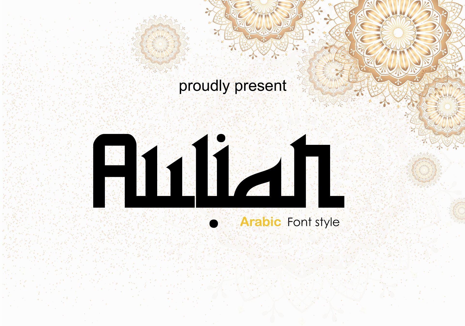 Aulian Modern Arabic Font -1