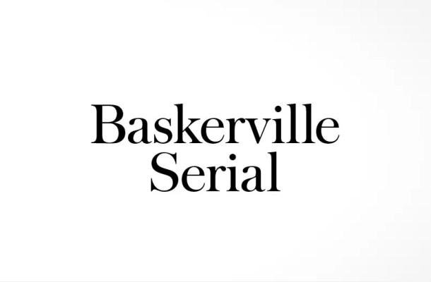 Baskerville Serial™ Font