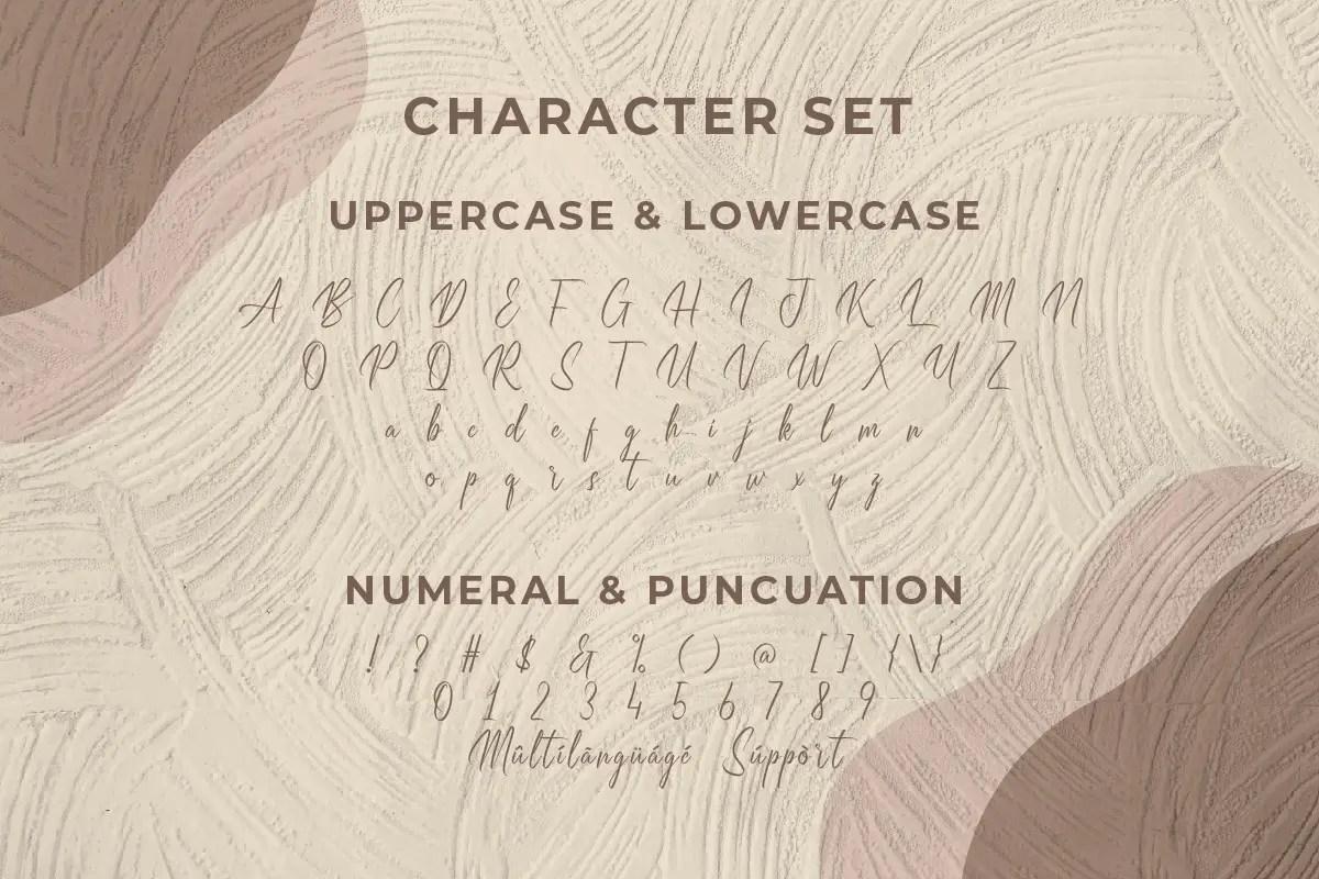 Breakdays Handwritten Font -3